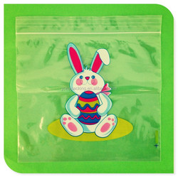 Custom Plastic easter bunny gift bag
