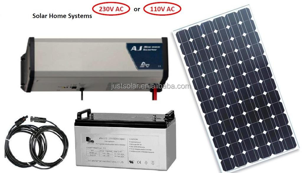 19W mono solar panel, solar system,solar power lights with CE TUV