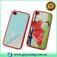 cheap price 3d sublimation case blank case for iphone/samsung