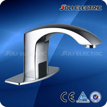 Single Cold Hands Free Automatic Sensor Bathroom Basin Faucet Sink Tap