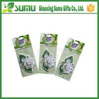 Promotional gifts custom car air freshener / paper scents air freshener wholesale