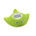 Cartoon mobula water thermometer Plastic Baby Infant Bath Tub Thermometer with LCD backlight