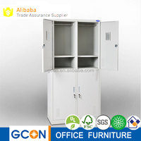 4 door steel cabinet clothes stainless steel locker