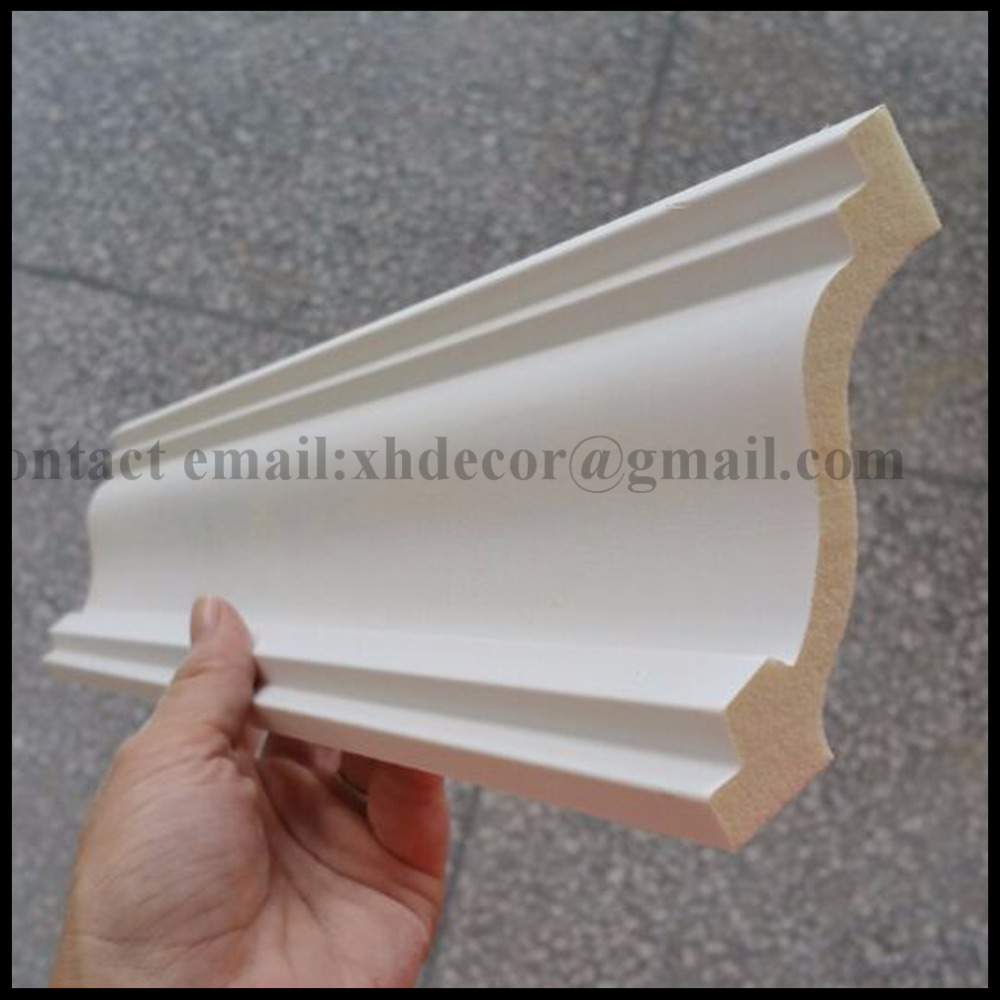 High Quality Polyurethane Foam Wholesale Crown Molding for Exterior