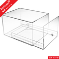 Clear Drop Front Shoe Box For Nike Shoe
