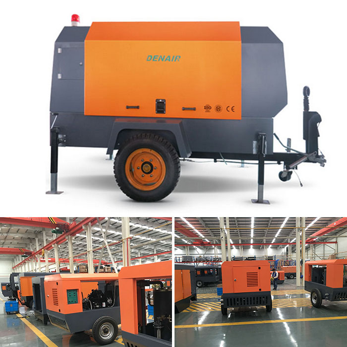 DADY 37 - 185KW Electric Mobile Air Compressor Manufacturer