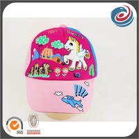 funny cartoon pattern kids five panels baseball cap