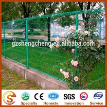 2015 new arrival decorative plastic fences chea double circle barrier fence with free sample