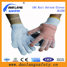 Working Industrial Safety Gloves with Dotted for Construction Use