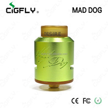 Mad dog authentic hot selling in stock Huge build deck for large coils mad dog tanks vapor