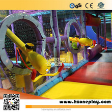 Children Indoor Playground Metal Ball Shooting Play Equipment for Ball Blaster Area