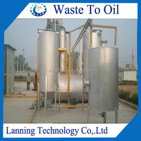 5 tons /day 10 tons /day processing capacity oil recycling distillation plant