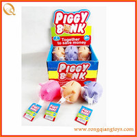 PVC Material and Cartoon Toy,Model Toy Style promotional pig coin bank AN39698822