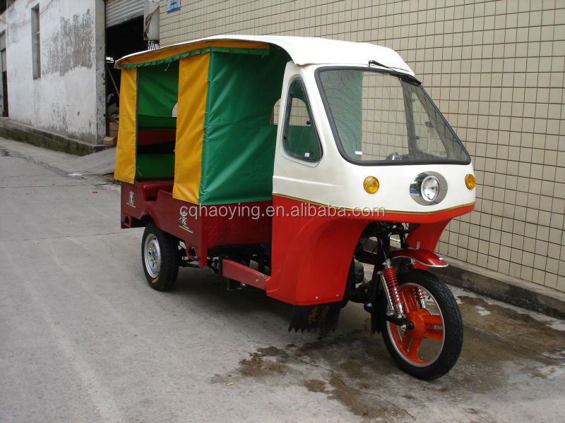 500-12 Tire Best New Japan Technology Car Rickshaw Cheap Passenger Three Wheel Motorcycle (Item No:HY250ZK)