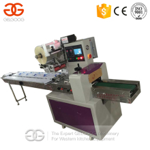 Fully Automatic Soap Fruit and Vegetable Biscuit Chocolate Sandwich Bakery Cake Bread Flow Pack Packing Machine