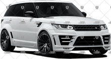 2014 RANGE ROVERS LUMMA SPORT BODY KIT