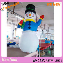 inflatable electrical abominable snowman christmas decoration