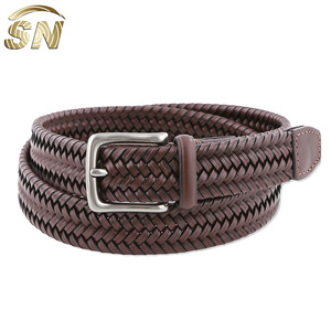 full grain cowhide leather durable leather buckle adjustable leather belt