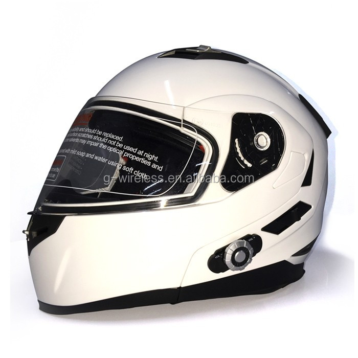 Personalized Motorcycle Helmet DOT Motorcycle built-in BT intercom Interphone Bluetooth Motorcycle Helmet