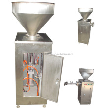 Automatic stainless steel vacuum sausage filling machine with twist and knick function