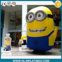 Hot sale event use inflatable despicable me replica character minion cartoon