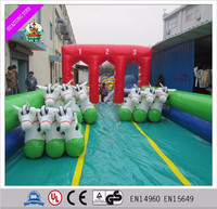 Inflatable Derby Hoppers/Inflatable Racing Horse/Pony Hop Horse