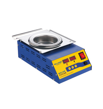 Digital Round Titanium Lead-Free Solder Pots Support Welding Working