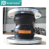 Manufacturer double sphere rod rubber bellow expansion joint