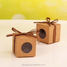 Kraft Boxes 2.4 inch (6 cm) perfect for sweets macarons or mini cupcake or party favour boxes