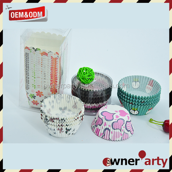 Birthday Party Paper Cake Decorations Cupcake Wrappers