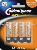 LR6 AA AM-3 Alkaline Dry Battery