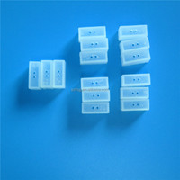 5050 silicone rubber end cap for 10mm PCB
