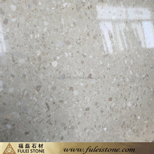 artificial quartz synthetic beige cream marble