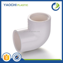 china manufacturer 3 Inch PVC Sch40 90deg Elbow Plastic Water Pipe Fittings