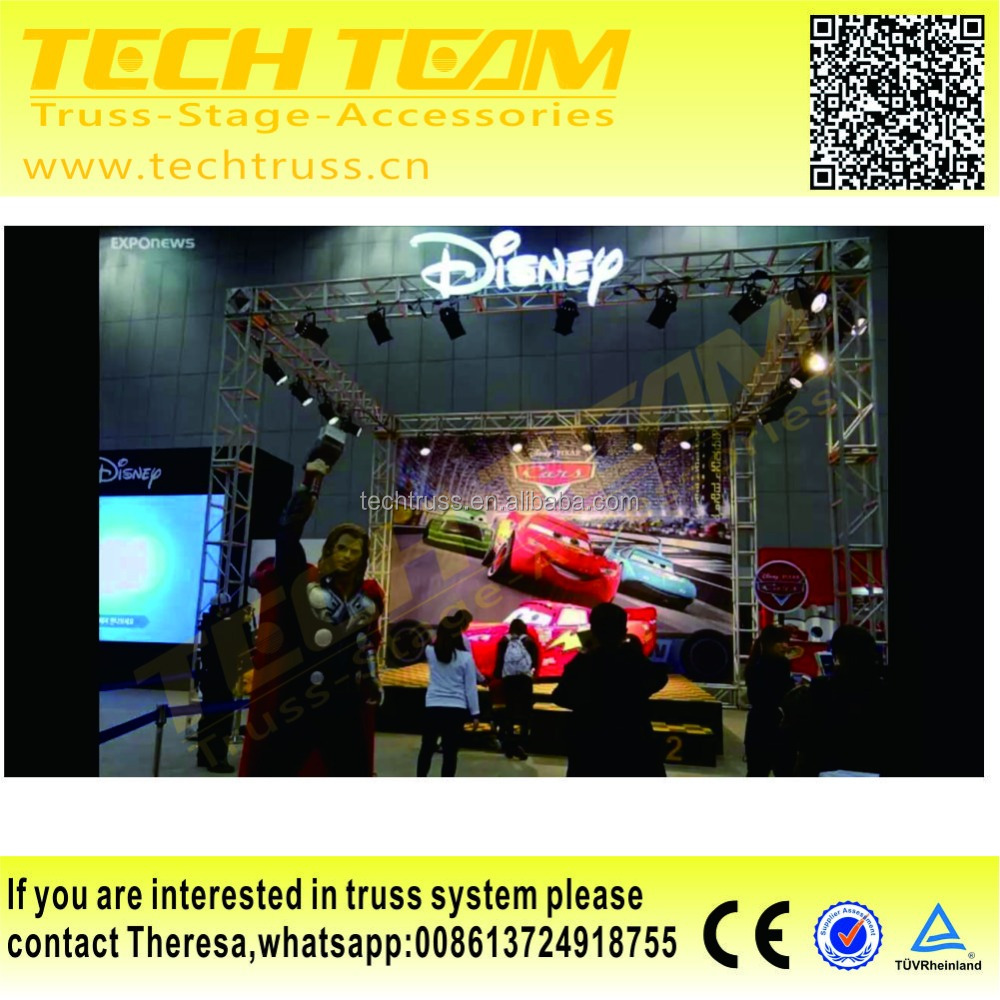 China Wholesale Led Light Truss With Roof Steel Roof Truss