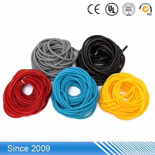Apply in sports equipment high strength elastic high pressure tpe rubber tube for spri tubing