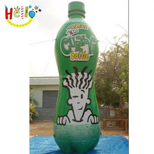 Attractive outdoor 2015 hot sell giant inflatable replica water bottle,inflatable replicas bottle for promotional advertising