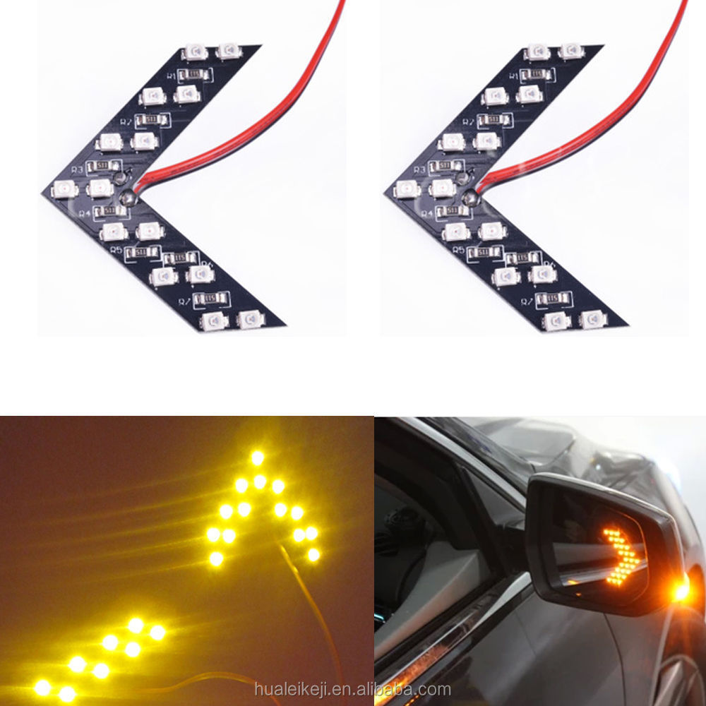 Car styling 2pcs LED Car W5W For Car Side Mirror Turn Signal Indicator Light/Car led/Parking