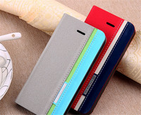 flip 6 inch leather wallet case for iphone 6,leather case for iphone 6