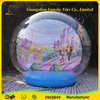 Fashionable PVC/PVC tarpaulin inflatable snow globe, halloween snow globe, snow globe with photo insert
