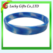 promotional silicone bracelet colour mixture,rubber college team bracelets