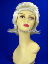 Fashion Remy wigs lace front wigs women white wigs Frizzy wigs