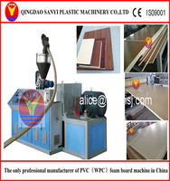 All-purpose PVC/WPC recycled plastic crust foamed board/sheet making machine