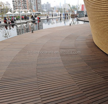 2016 Waterproof Bamboo Parquet Flooring Strand Woven Bamboo Flooring For Outdoor Use