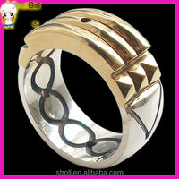 2015 Spiritual Adult Power Gold Ring
