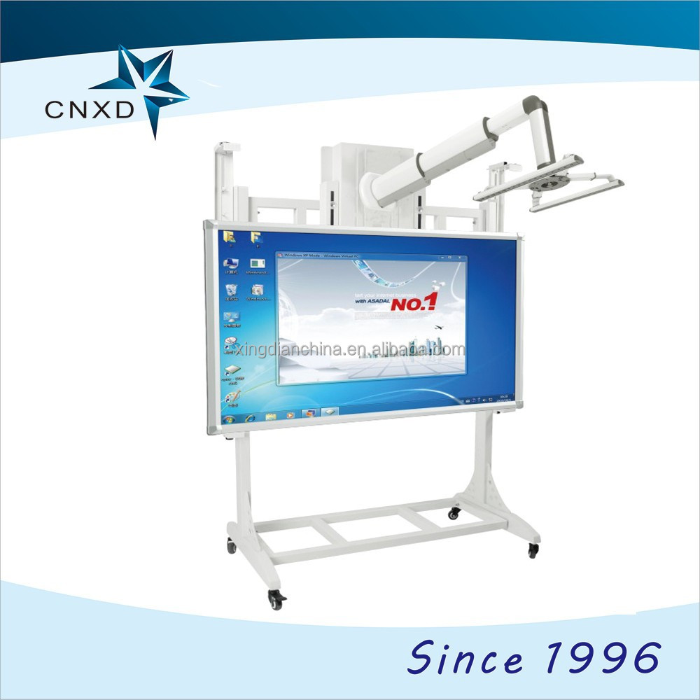 High tech portable electrical smart whiteboard for school