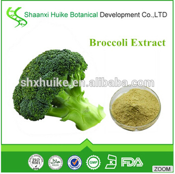 High Quality Broccoli Extract Powder, Broccoli Extract Sulforaphane for Anti Cancer