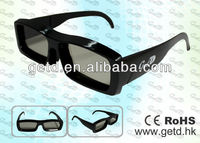 Cinema and Home TVs Circular polarized 3D glasses