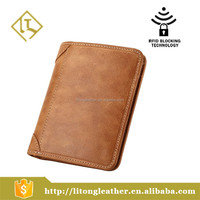 100% Satisfaction Guarantee Men's Genuine Cowhide Leather Vintage Bifold Wallets,Case Card Holder Purse