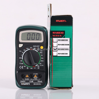 3 1/2 compact design digital multimeter MAS830L, pocket-sized digital multimeter MAS830L on sale